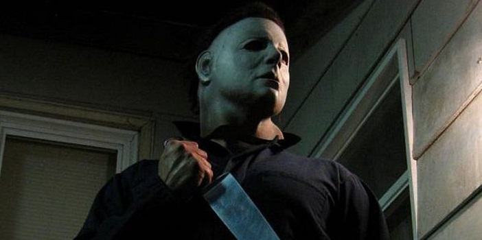Michael Myers Prank Stalking and Scaring People on the Streets