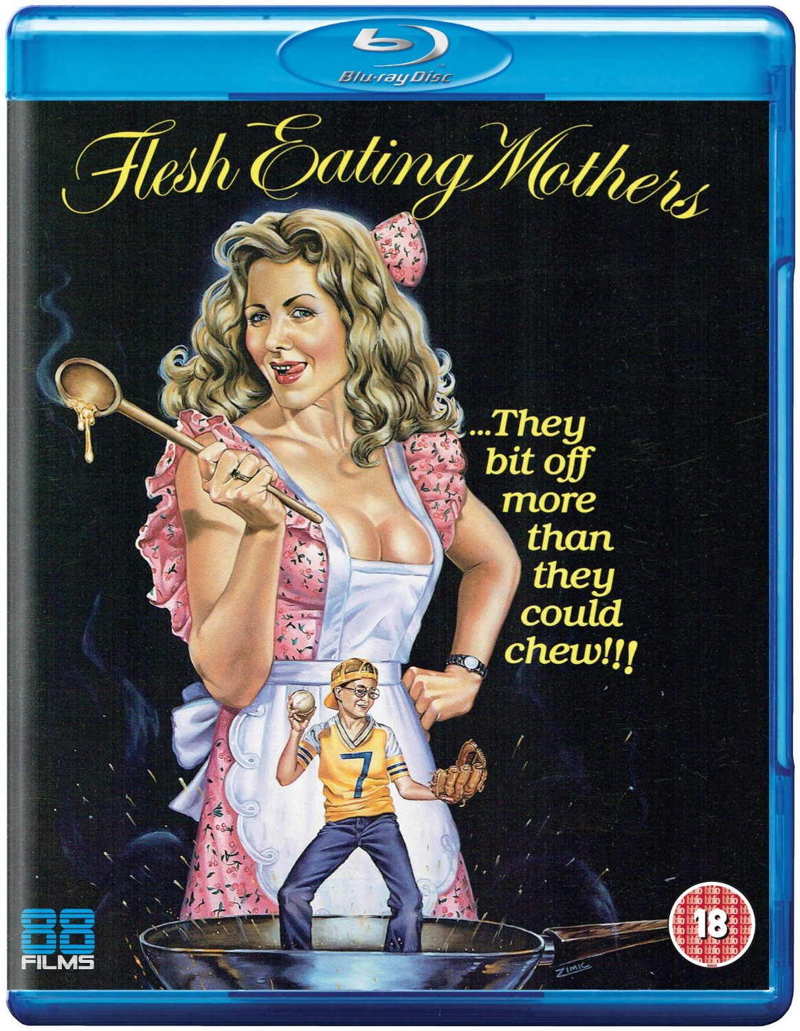 Flesh Eating Mothers UK Blu-Ray