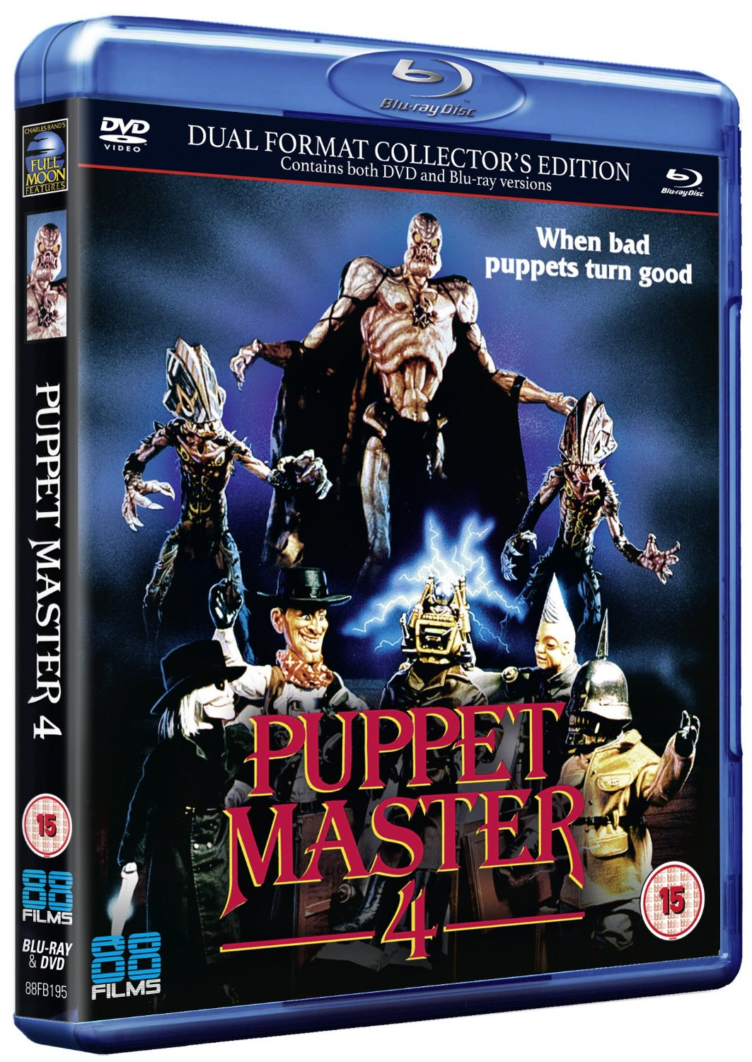 Puppet Master 4 UK Blu-Ray