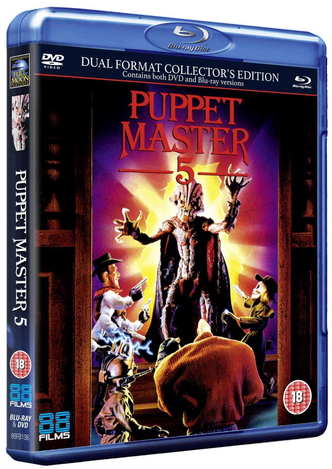 Puppet Master 5 UK Blu-Ray