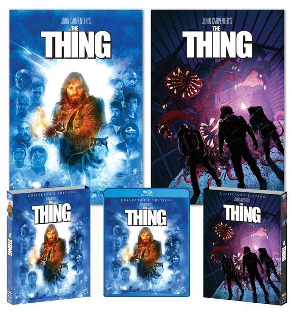 The Thing Scream Factory Artwork Blu-Ray