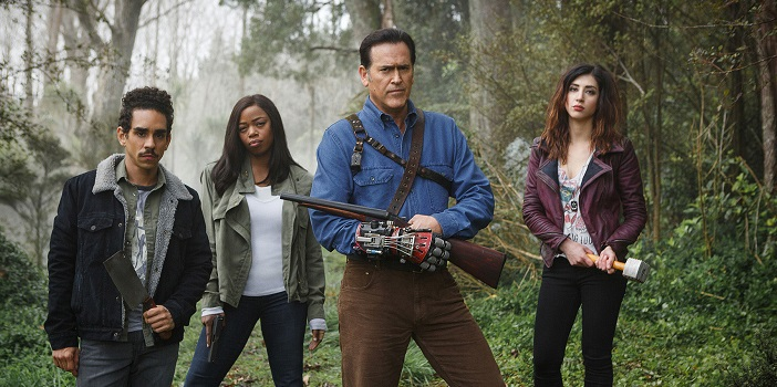 "Bruce Campbell Says ""You Ain't Seen Nothin' Yet"" Regarding 'Ash Vs. Evil Dead' Season 2"