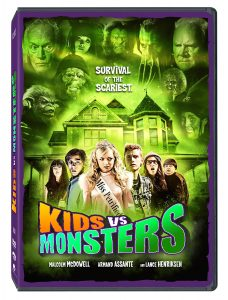 Kids vs Monsters DVD