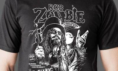 Fright-Rags Bring You The New 'Rob Zombie' Shirt Collection