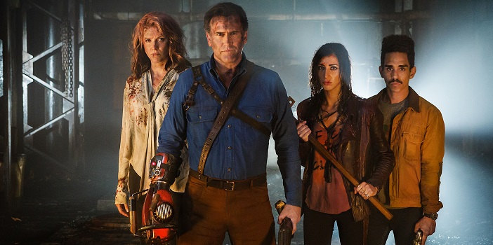 "This Is How You Kill A Deadite In ""Ash vs Evil Dead"" Season 2 Teaser"