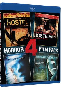 Hostel, Hostel II, Hollow Man, Hollow Man 2 Blu-Ray