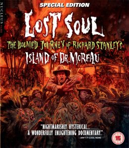 Doomed Journey of Richard Stanley's Island of Dr. Moreau UK Blu-Ray