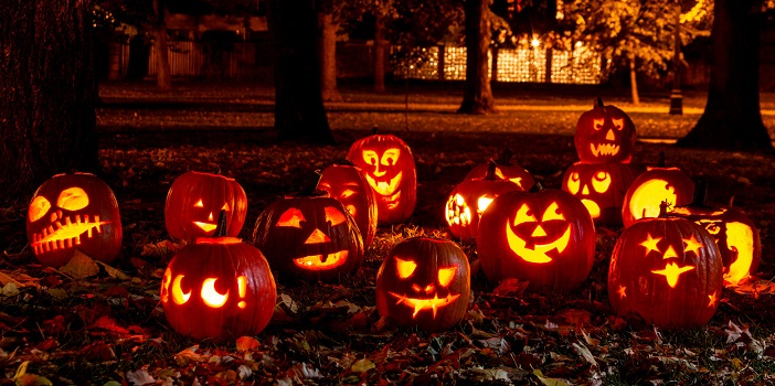 Dark universe halloween season pumpkin carving ideas