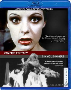 Vampire Ecstasy / Sin You Sinners Blu-Ray
