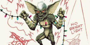 Mondo's Gremlins LP Packaging Reacts to Daylight and Water!