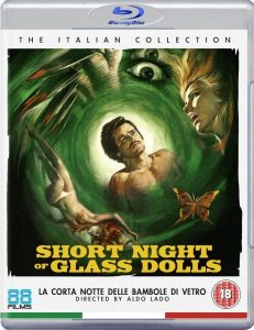 Short Night of the Glass Dolls UK Blu-Ray