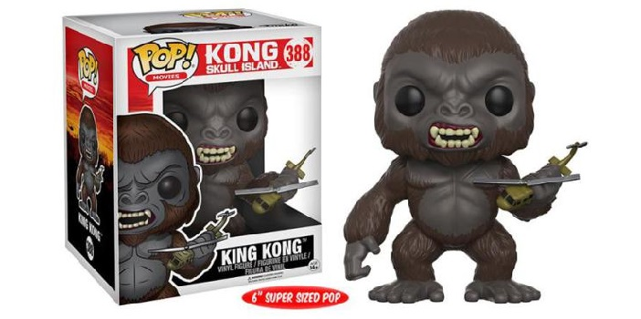 Super Sized Kong: Skull Island POP! Movies Vinyl Toy Figure