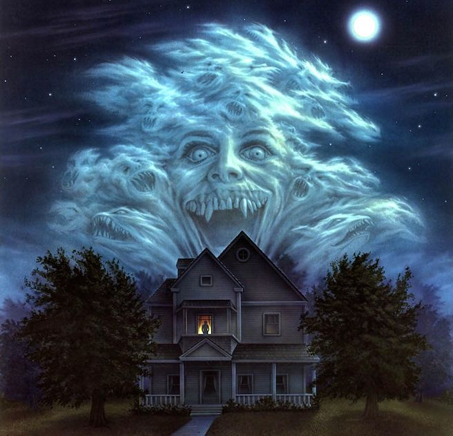 Fright Night Art Poster