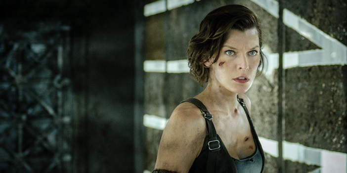New Resident Evil: The Final Chapter IMAX Poster and Clip