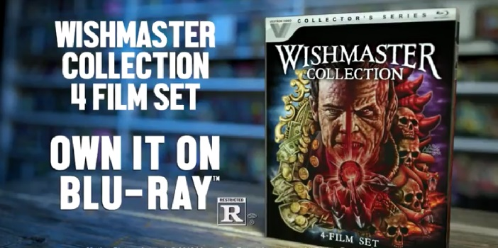 Special Features Revealed for the Vestron Blu-Ray Wishmaster Collection
