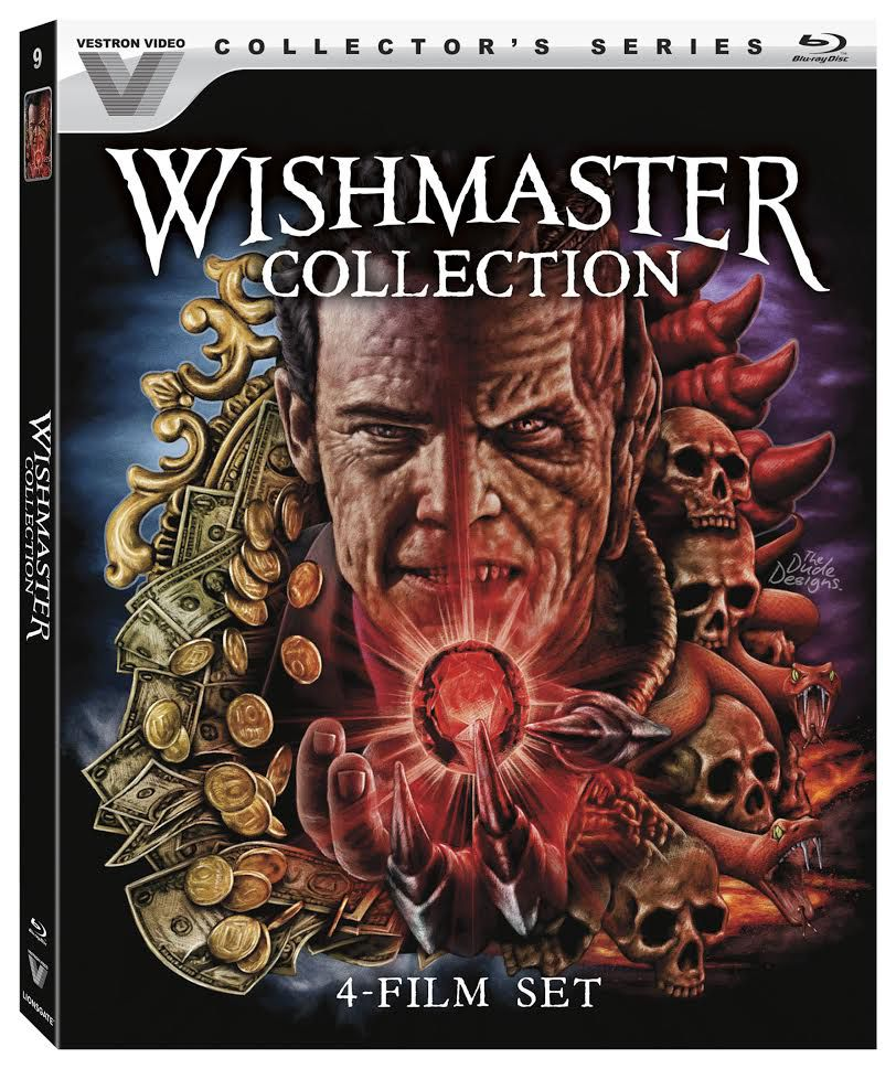 Wishmaster Entire Collection Blu-Ray