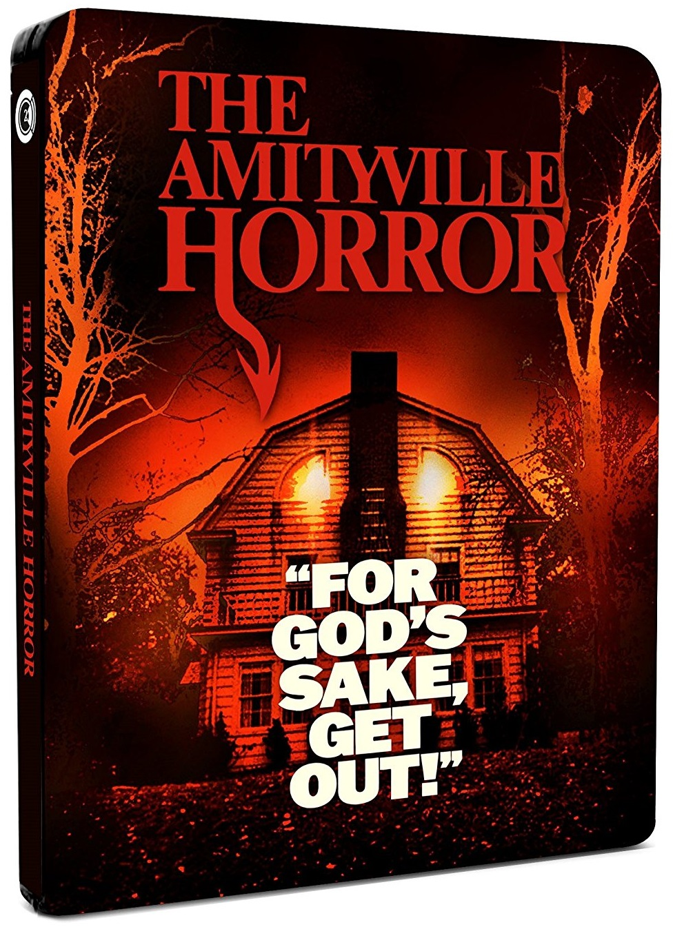 Amityville Horror UK Blu-Ray Steelbook