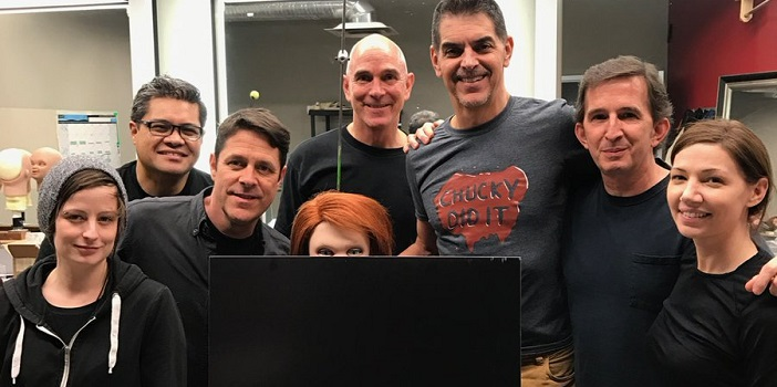 Don Mancini Teases Chucky Doll from Cult of Chucky Set!