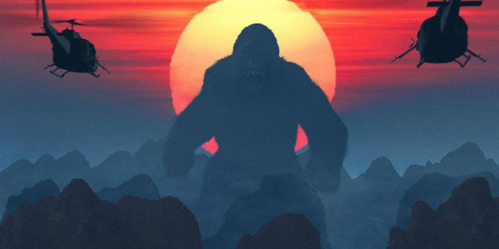 Seriously Beautiful Kong: Skull Island IMAX Movie Poster