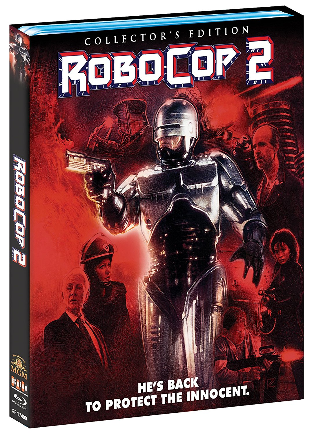 Robocop 2 Scream Factory Blu-Ray