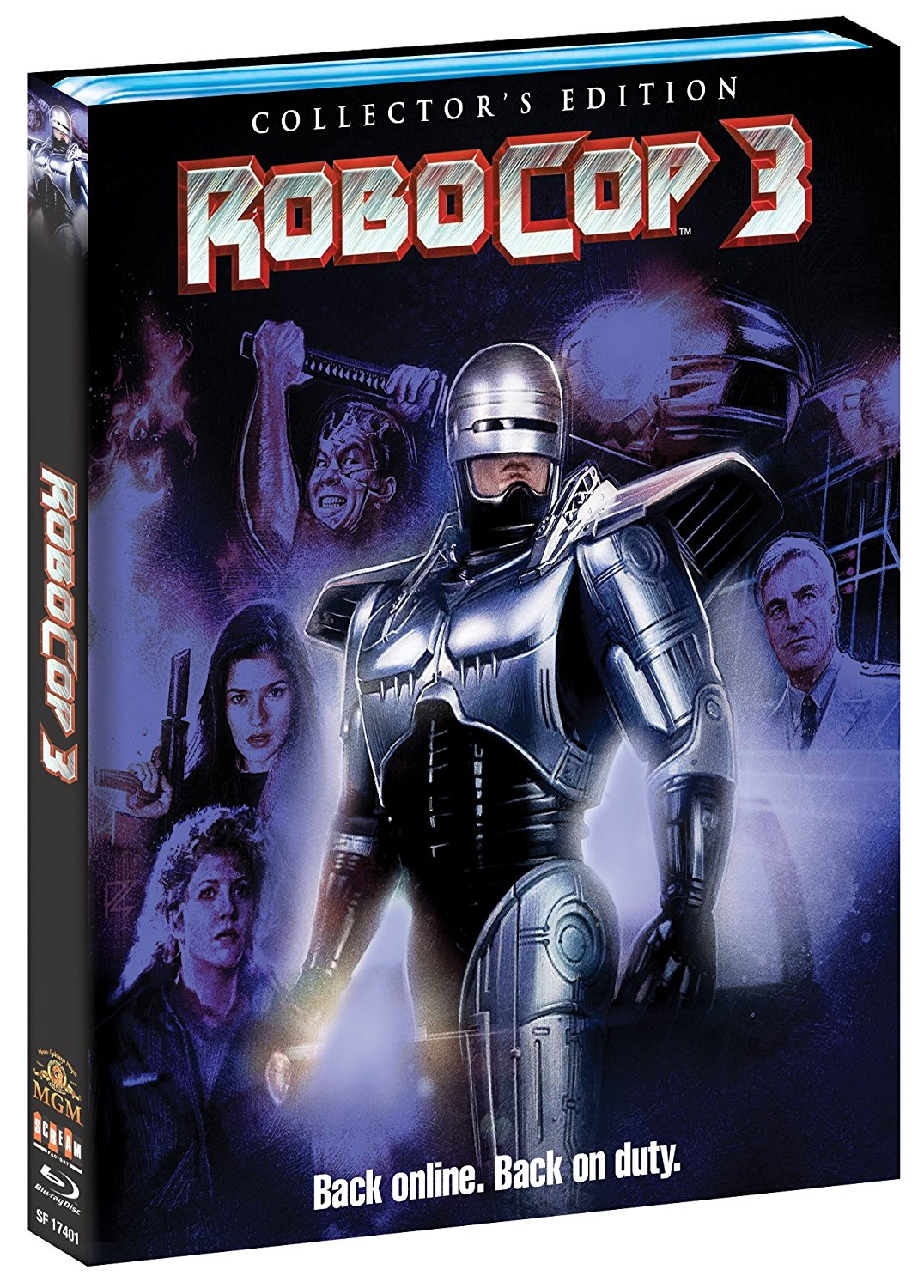 Robocop 3 Scream Factory Blu-Ray