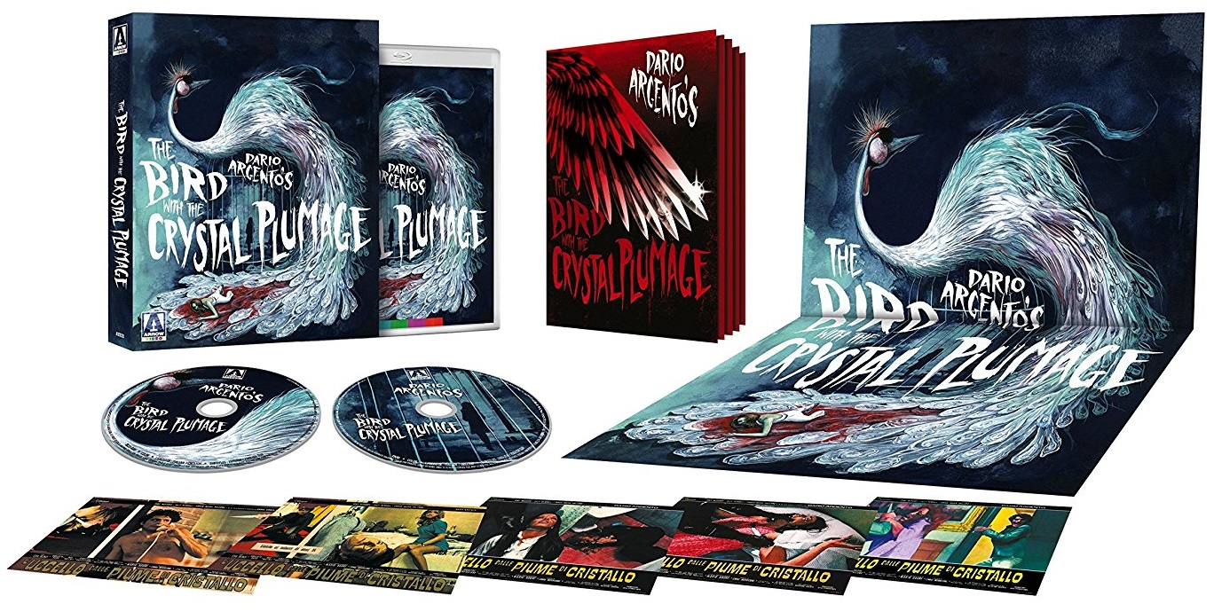 The Bird with the Crystal Plumage Arrow Video UK Blu-Ray