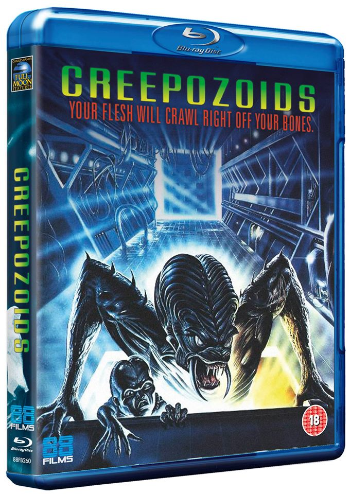 David DeCoteau Creepozoids UK Blu-Ray 88 Films