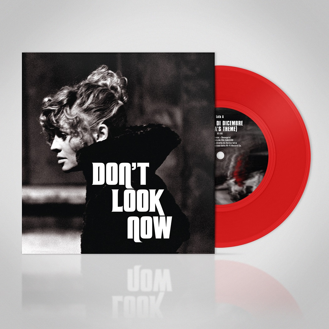 Dont Look Now 7inch Single Visual Red