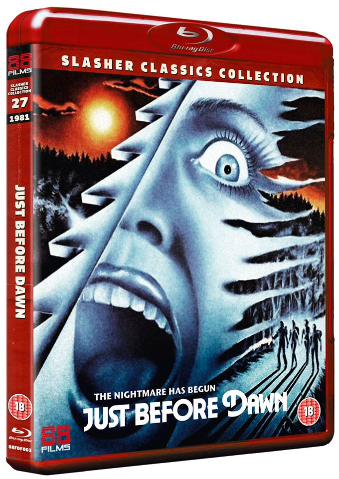 Just Before Dawn 88 Films UK Blu-Ray