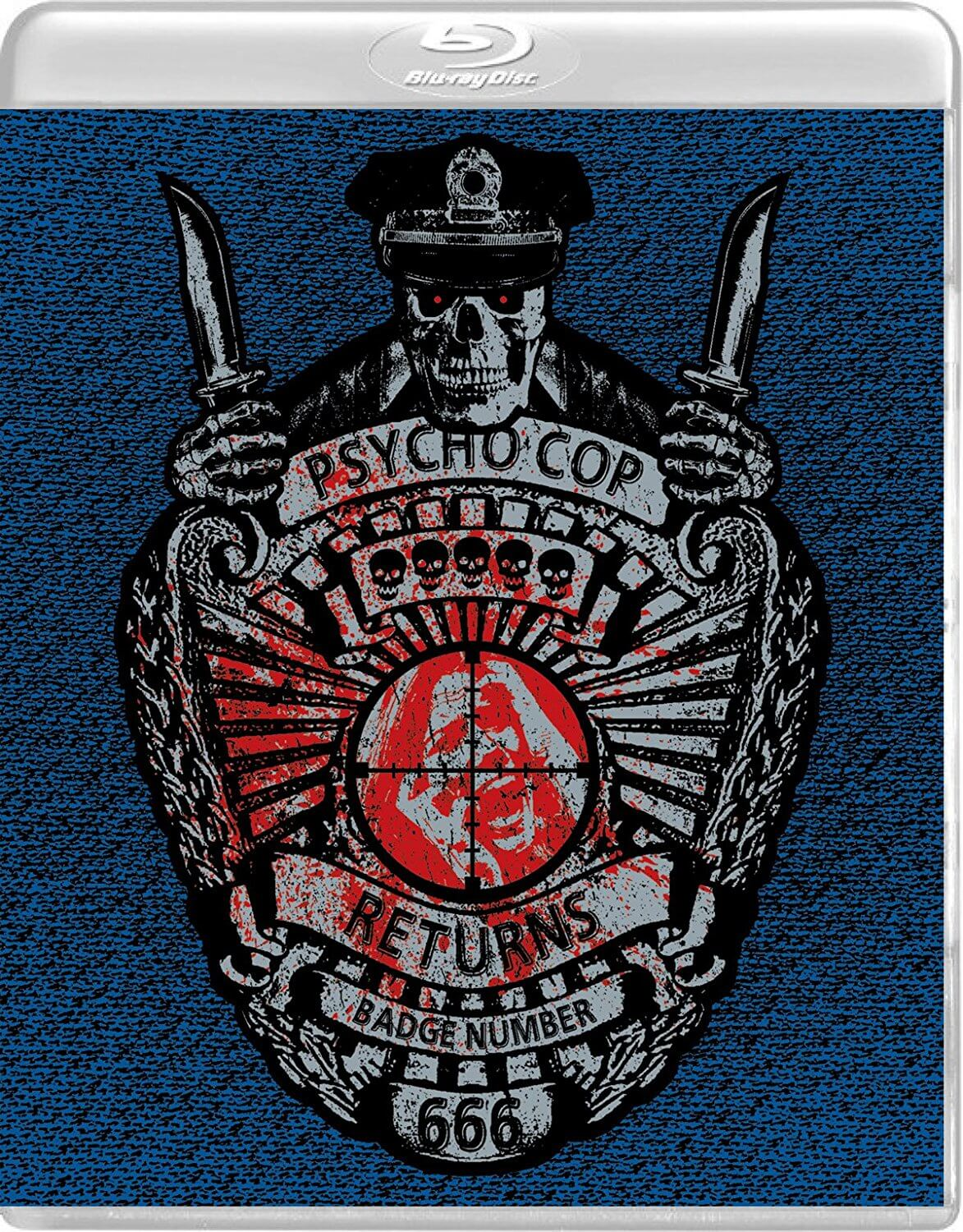 Psycho Cop Returns USA Blu-Ray