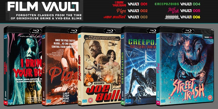 88 Films Announce a Bucket Load of UK Horror Blu-Ray Releases
