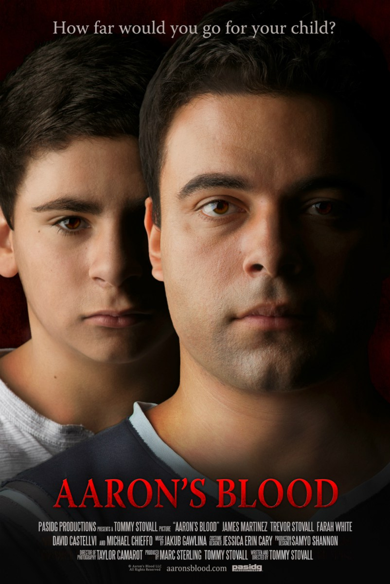Aaron's Blood Poster