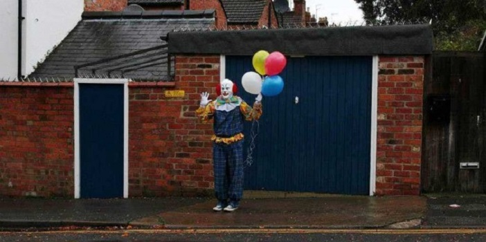 Tony Cadwell's 'Behind The Sightings' Inspired by Clown Epidemic