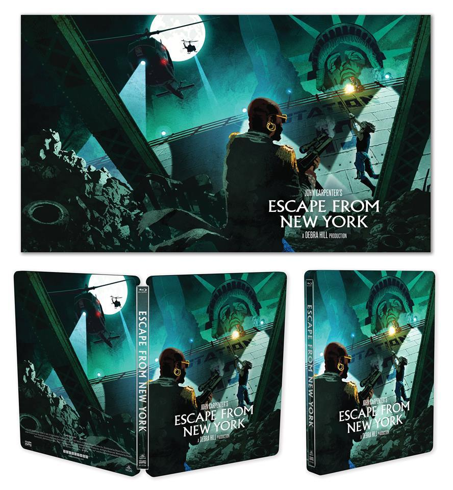 Escape from New York Steelbook