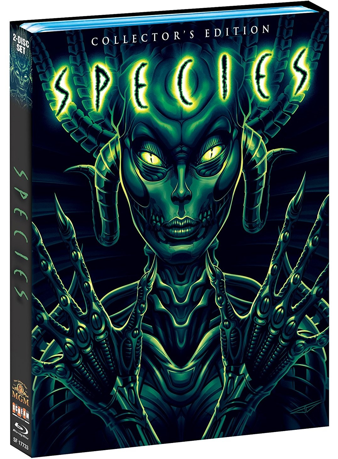 Species Scream Factory USA Blu-Ray