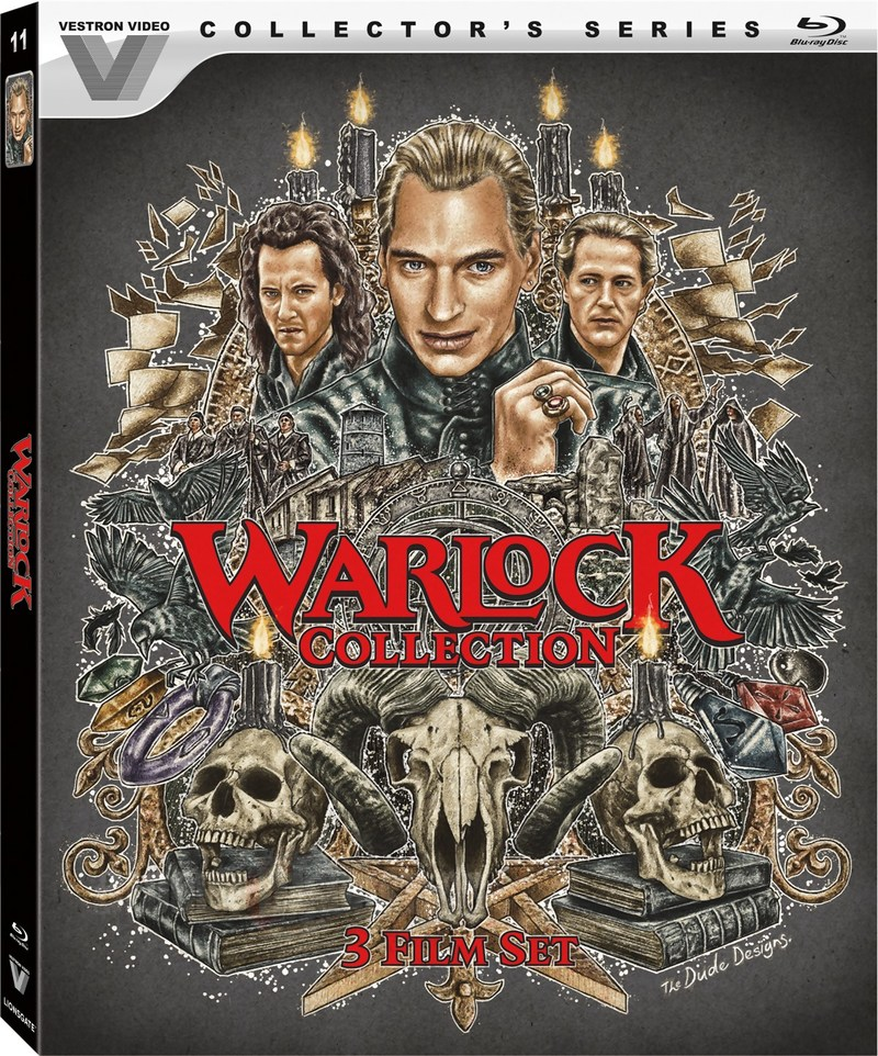 Warlock Collection USA Blu-Ray