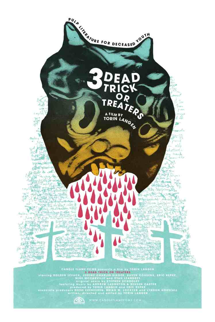 3 Dead Trick or Treaters Poster