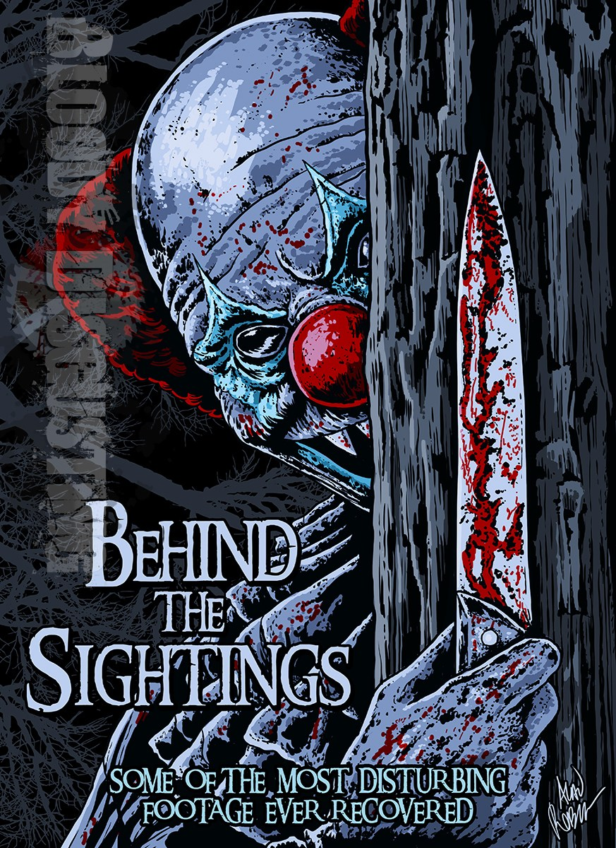 Behind the Sightings Clown Poster