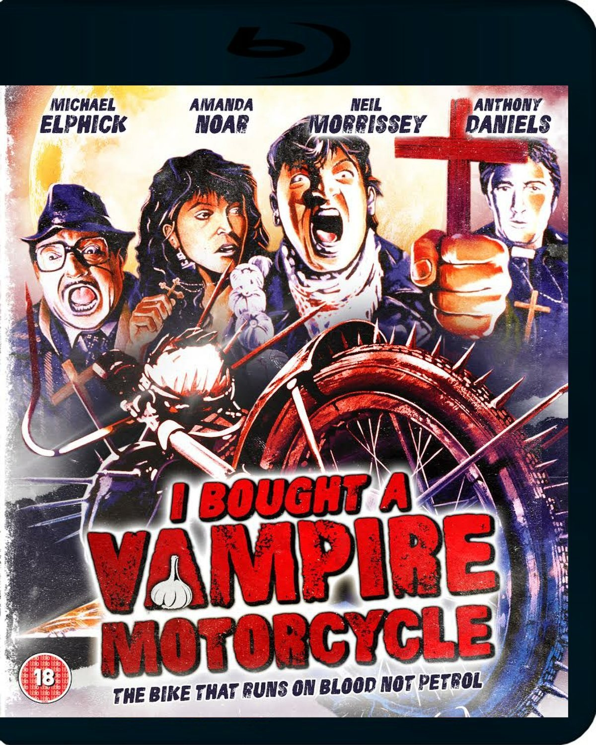 I Bought A Vampire Motorcycle UK Blu-Ray