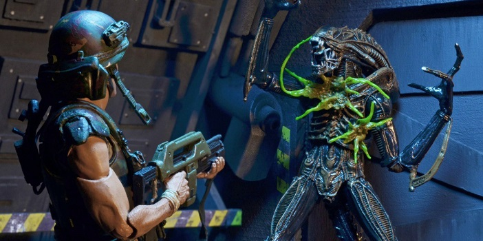 NECA Reveals Their Brand New Aliens Series 12 Figure Line!