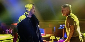 Ryan Gosling and Harrison Ford Face Off in 'Blade Runner 2049' Photo