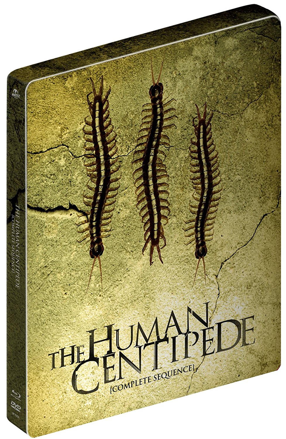 The Human Centipede Collection UK Steelbook Blu-Ray