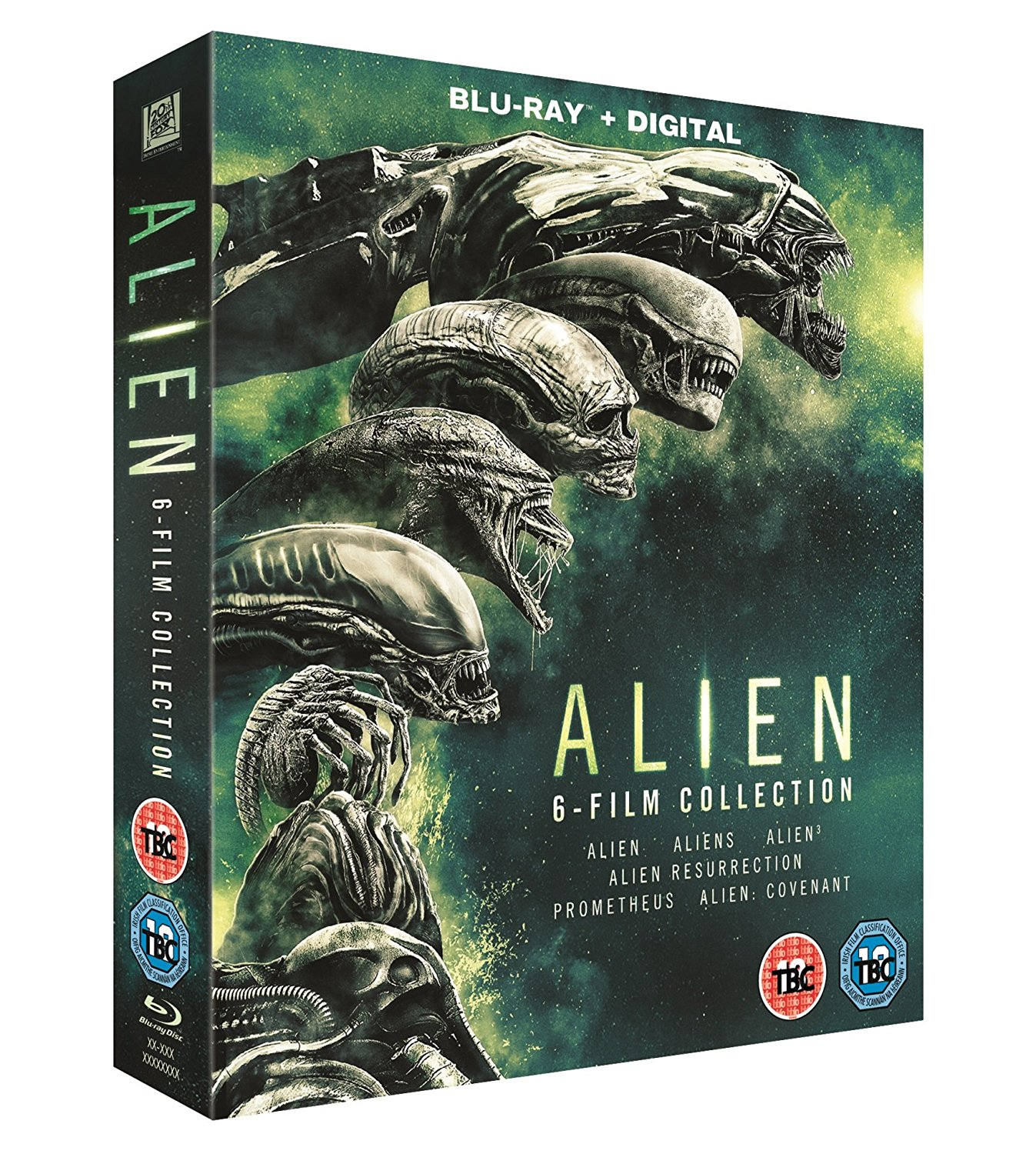 Alien 1-6 Boxset UK Blu-Ray