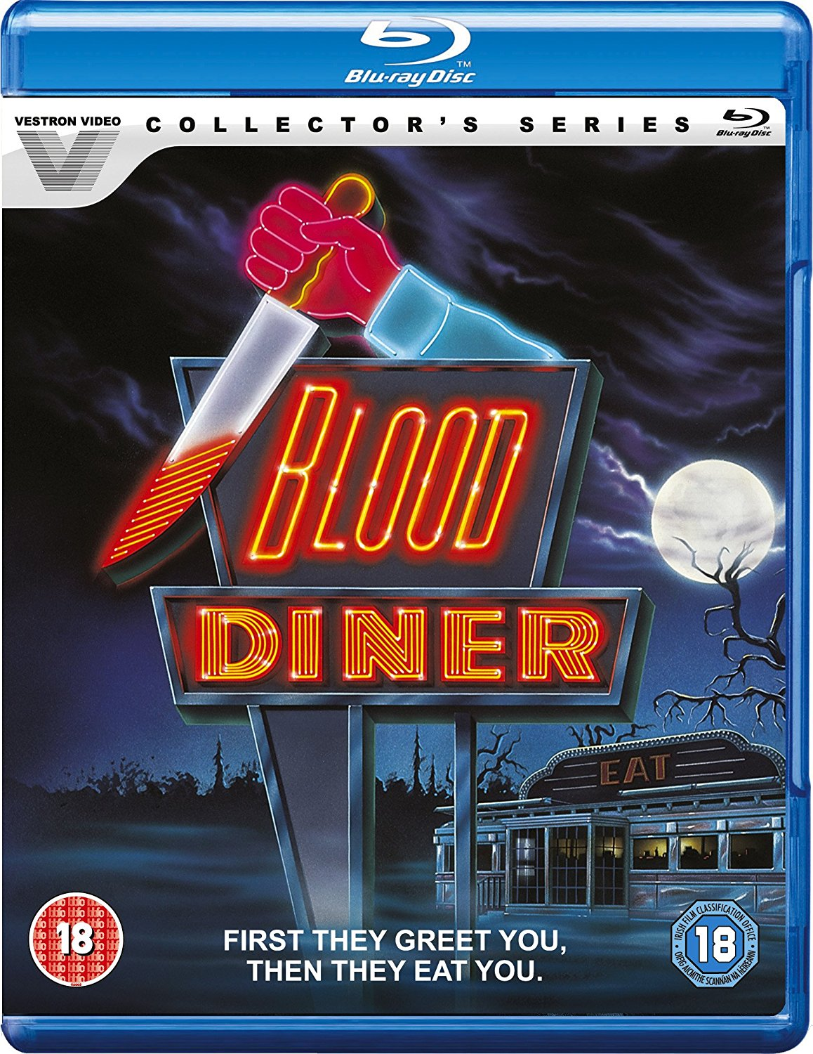 Blood Diner UK Blu-Ray