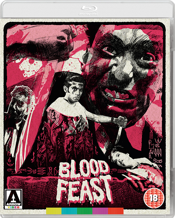 Blood Feast UK Blu-Ray