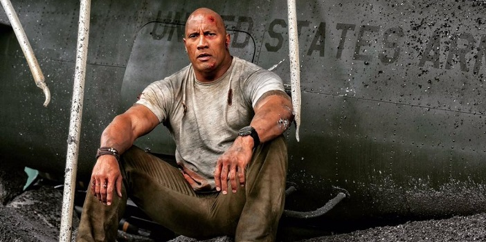 """The Rock"" is Surrounded by Devastation in New Photo from 'Rampage'"