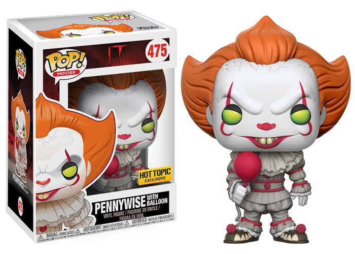 Funko Spoils Us With Four Variations Of Pennywise Pop
