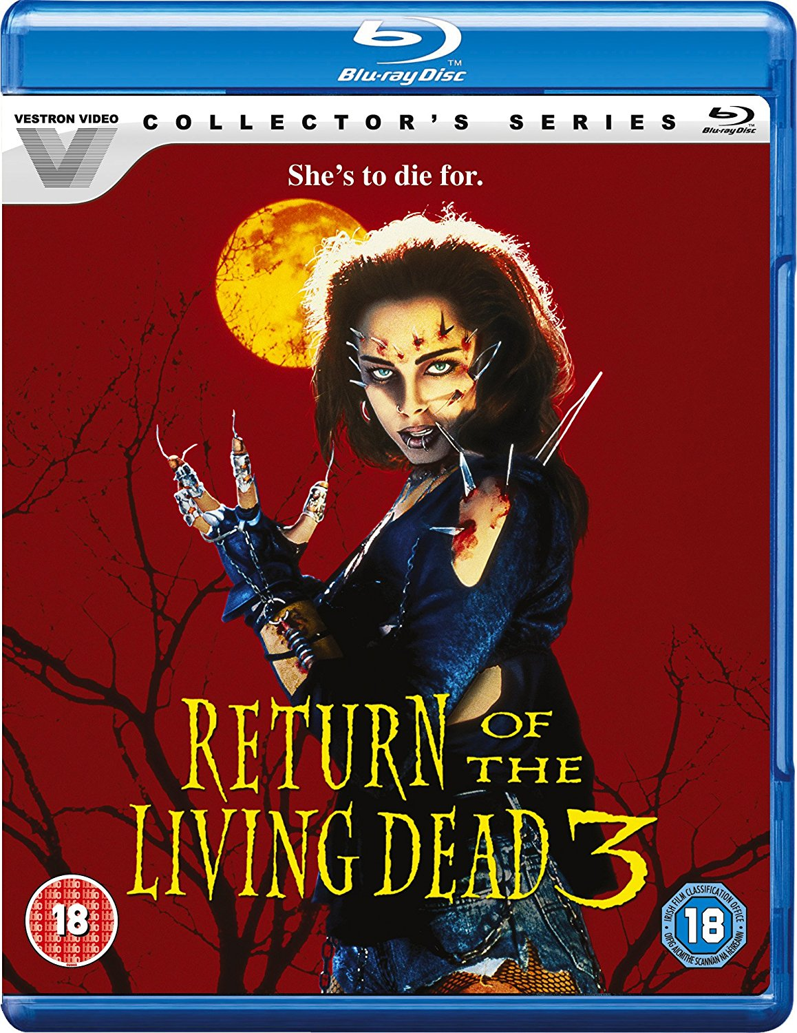 Return Of The Living Dead 3 UK Blu-Ray