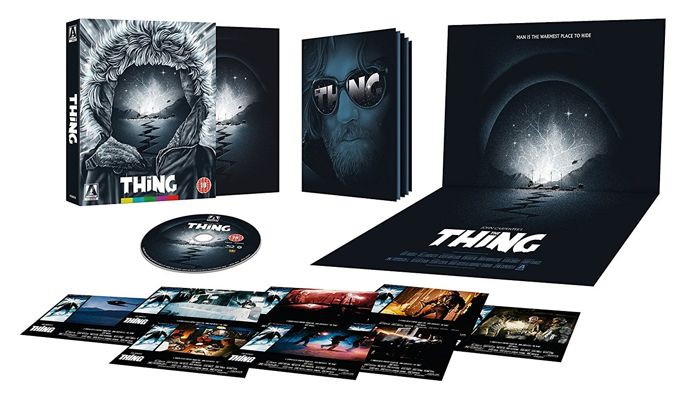 The Thing Arrow Video Set Art Full