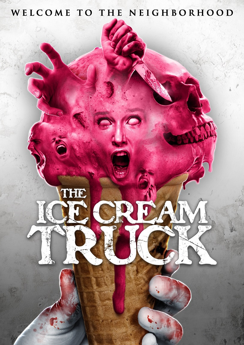 Ice Cream Truck Poster Neighborhood